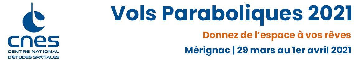 Campagne de vols paraboliques